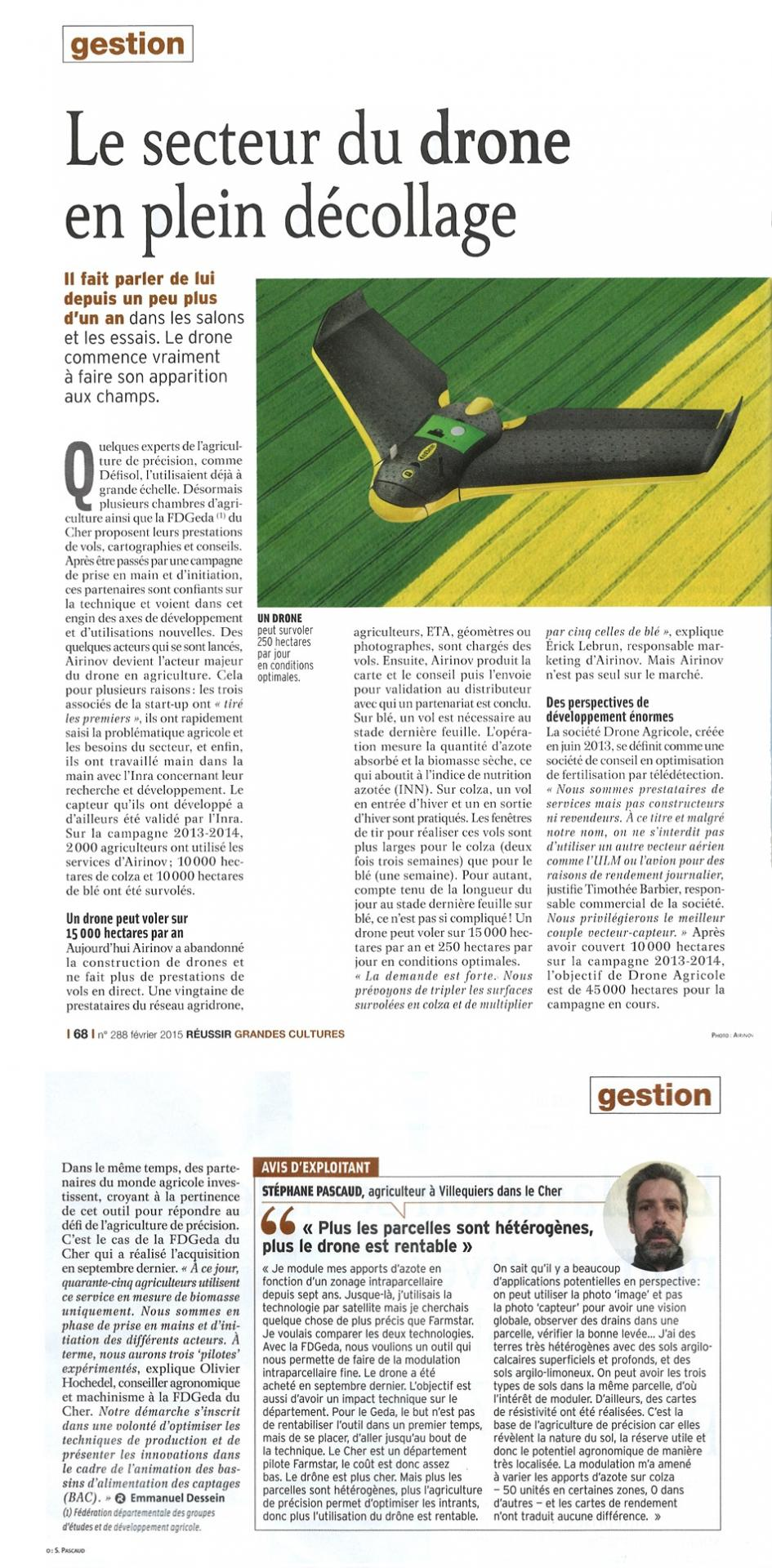 Article drone